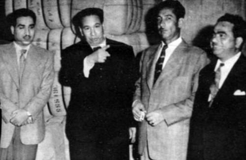 عبد الرحمن خضر مع القبانجي