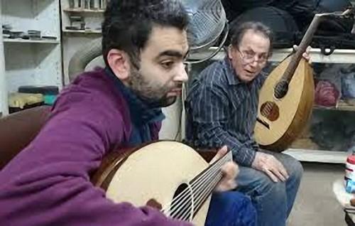 البير منصور ومصطفى سعيد