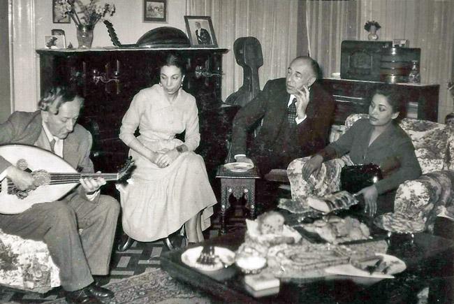 Cherif Mohyeddin and Safiya Ayla