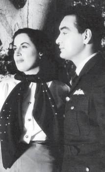 ليلى مراد ومحمد فوزي