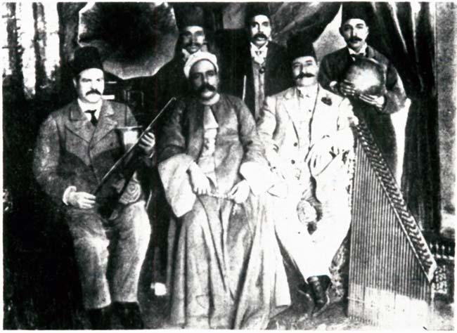Sheikh Yūsuf al-Manyalāwī and his band