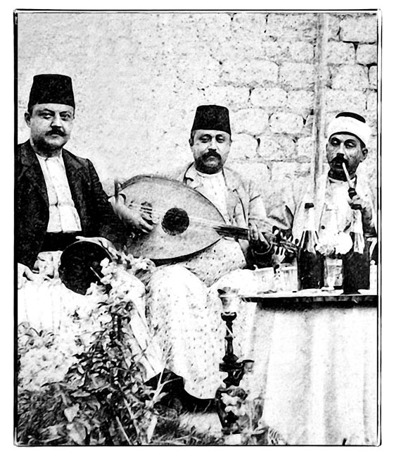 Musicians from Aleppo