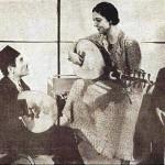 نادرة مع قصبجي