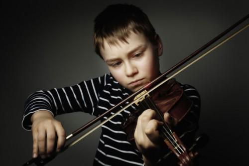 Child Practicing