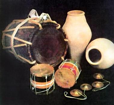 Percussion instruments - Bahri Art
